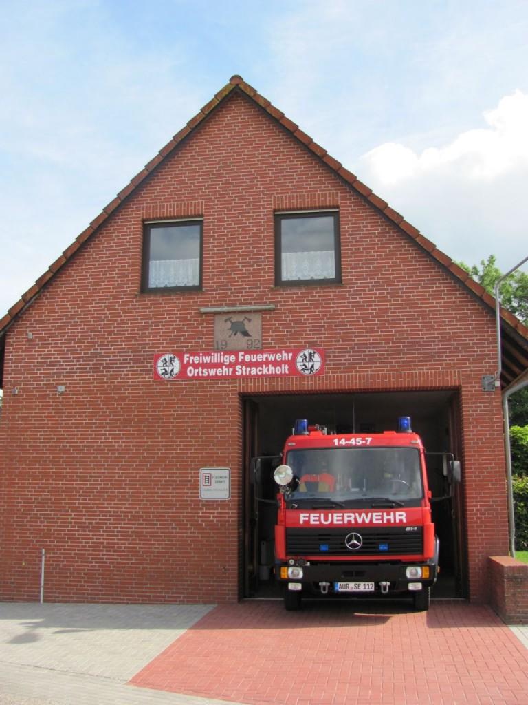 Feuerwehrhaus in Strackholt
