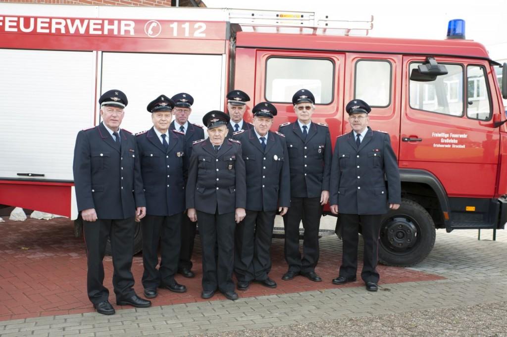 Seniorenabteilung der Feuerwehr Strackholt