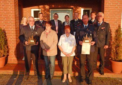 Ehrungen, Verabschiedungen und Beförderungen für Großefehntjer Feuerwehr-Führungskräfte