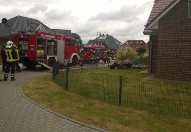 Timmel: Zimmerbrand im Dachgeschoss, Feuerwehr verhindert Ausbreitung