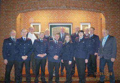 Jahreshauptversammlung der Feuerwehr West-/Mittegroßefehn & Ulbargen