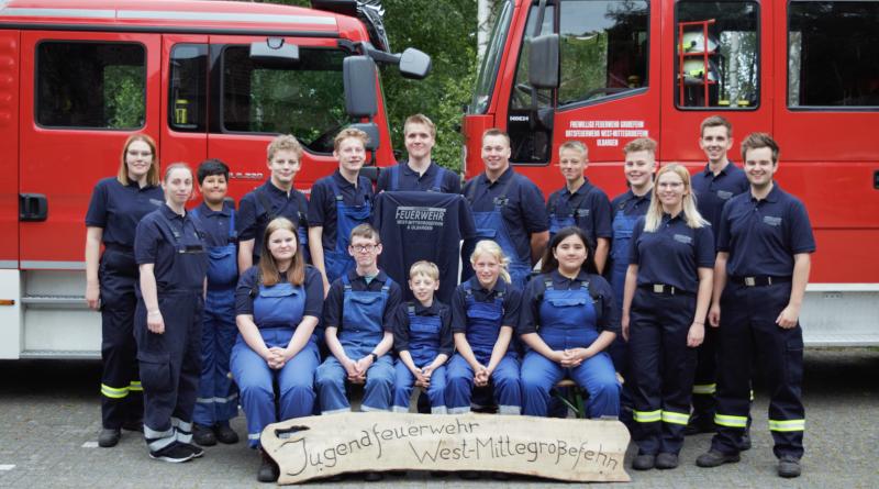 Neue Polo-Shirts für die Jugendfeuerwehr West-/Mittegroßefehn & Ulbargen