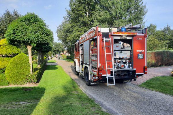 Holtrop: Gemeldeter Dachstuhlbrand geht glimpflich aus