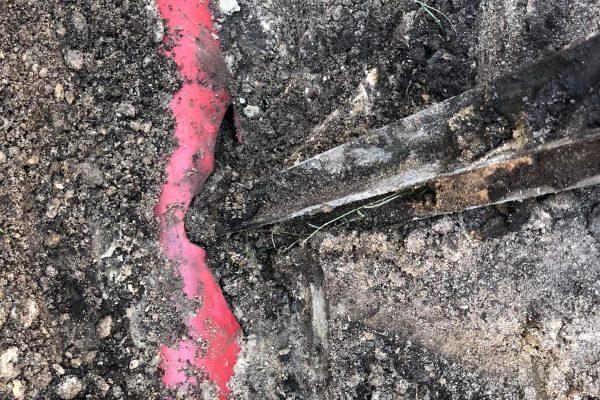 Gasleitung in Timmel beschädigt
